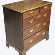 George 111 Oak Chest 3 (2)