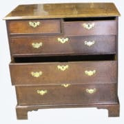 George 111 Oak Chest 4 (2)