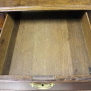 George 111 Oak chest 2
